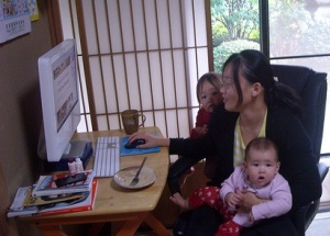 The highwire balancing act of a working mom